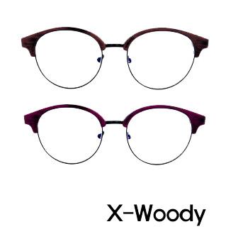 X-Woody・ PC用ブルーライトカットメガネ