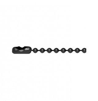Black Bead Chain・キューリンクブラックビーズチェーン
