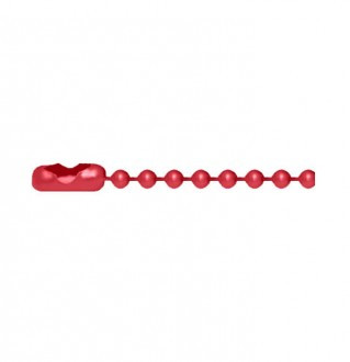 Red Bead Chain・キューリンクレッドビーズチェーン