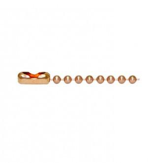 Copper Bead Chain・キューリンクカッパービーズチェーン
