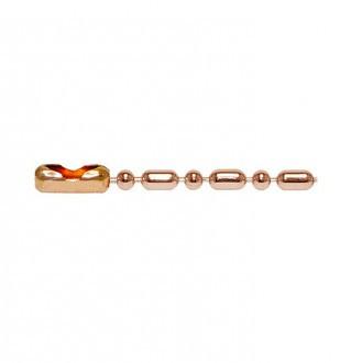 Copper Bead-Bar Chain・キューリンクカッパービーズ バーチェーン