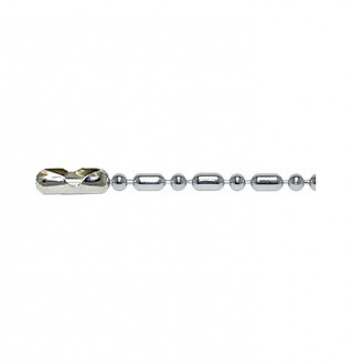 Sterling Silver Bead-Bar Chain・キューリンクスターリングシルバービーズ - バーチェーン