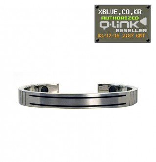 Women Stainless Steel Bracelet。女性用スチール・キューリンクブレスレット