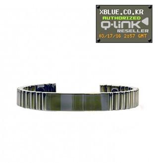 Silver Titaniumシルバーチタニウム・キューリンクブレスレット