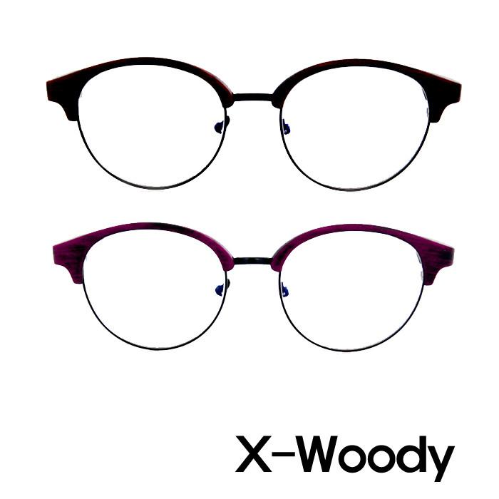 X-Woody PC用ブルーライトカットメガネ