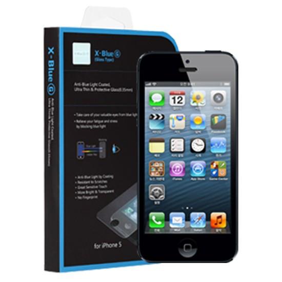 iPhone 5 / 5S / 5C・ブルーライトカット液晶強化ガラス